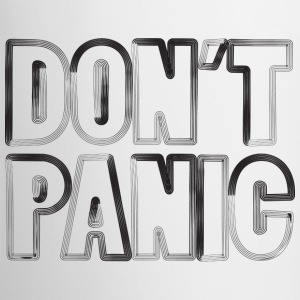 don't panic cup - Tazze bicolor