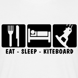 EAT SLEEP KAYAK 3 - Men's T-Shirt