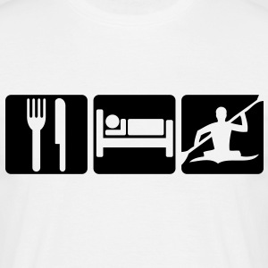EAT SLEEP KAYAK 2 - Men's T-Shirt