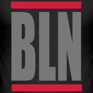Berlin BLN - Männer Slim Fit T-Shirt