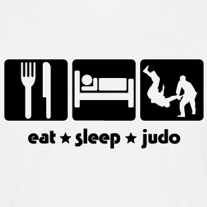 EAT SLEEP JUDO - Men's T-Shirt