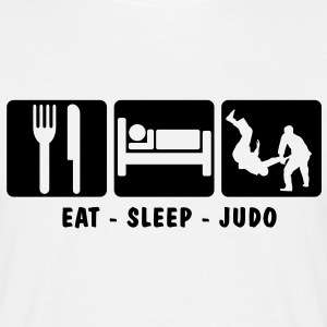 EAT SLEEP JUDO 3 - Men's T-Shirt