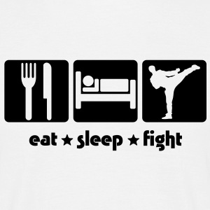 EAT SLEEP FIGHT - Men's T-Shirt