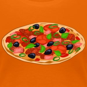 pizza T-Shirts - Frauen Premium T-Shirt