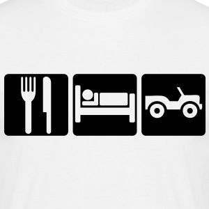 EAT SLEEP OFF-ROAD 2 - Men's T-Shirt