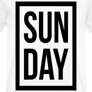 Sunday - Men's V-Neck T-Shirt