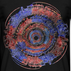 Music Circle 2 T-Shirts - Männer T-Shirt