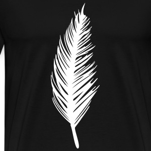 feather T-Shirts - Men's Premium T-Shirt
