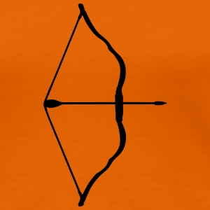 bow and arrow T-shirts - Premium-T-shirt dam