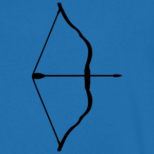 bow and arrow T-shirts - Herre T-shirt med V-udskæring