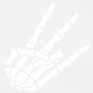 Shocker Skeleton Hand - Men's T-Shirt