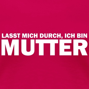 mutter T-Shirts - Frauen Premium T-Shirt