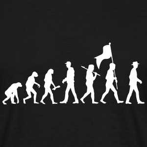 Evolution Time Travel - Männer T-Shirt