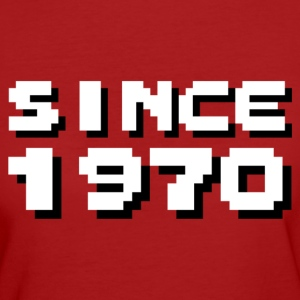 SINCE1970 T-Shirts - Frauen Bio-T-Shirt