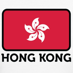 National Flag of Hong Kong T-skjorter - Økologisk T-skjorte for kvinner