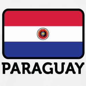 National Flag of Paraguay T-Shirts - Men's Premium T-Shirt