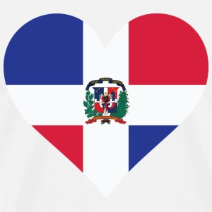 A heart for the Dominican Republic T-Shirts - Men's Premium T-Shirt
