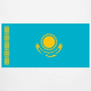 National Flag of Kazakhstan Babybody - Økologisk langermet baby-body