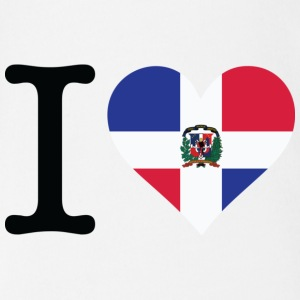 I love the Dominican Republic Shirts - Organic Short-sleeved Baby Bodysuit