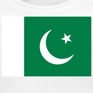 National Flag of Pakistan Accessories - Baby økologisk hagesmæk