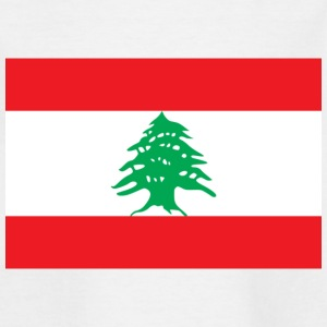 National Flag of Lebanon Shirts - Kids' T-Shirt