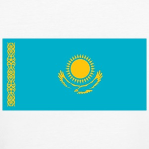 National Flag Kasakhstan T-shirts - Organic damer