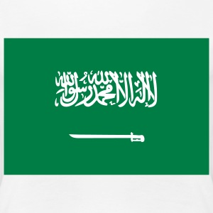 Nationalflagge von Saudi Arabien T-Shirts - Frauen Premium T-Shirt