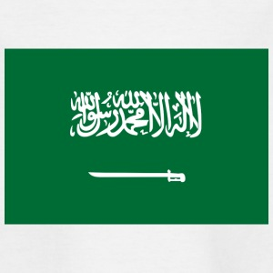 Nationale flag Saudi-Arabien T-shirts - Teenager-T-shirt