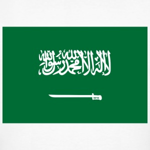 National flag of Saudi Arabia T-Shirts - Men's Organic T-shirt