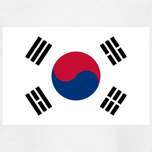 Nationale flag Sydkorea T-shirts - Teenager-T-shirt