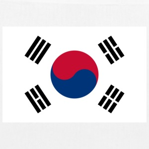 National flag of South Korea Bags & Backpacks - EarthPositive Tote Bag