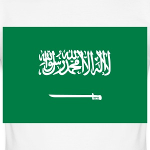 Nationale vlag van Saoedi-Arabië T-shirts - slim fit T-shirt