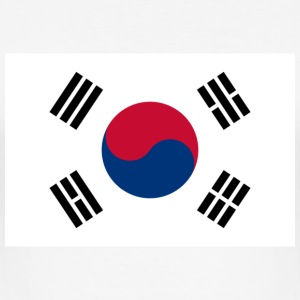 National flag of South Korea T-Shirts - Men's Slim Fit T-Shirt