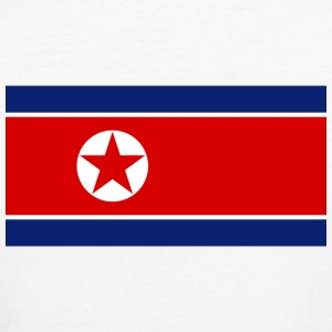 National flag of North Korea T-Shirts - Women's Organic T-shirt