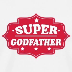 Super godfather T-shirts - Mannen Premium T-shirt