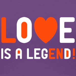 Frauen T-Shirt Love is a legend Single Valentin - Frauen Premium T-Shirt