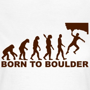Evolution Boulder T-Shirts - Frauen T-Shirt