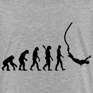 Evolution Bungee Jumping T-Shirts - Kinder Premium T-Shirt