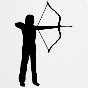 archery, archer - woman  Aprons - Cooking Apron