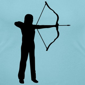 archery, archer - woman T-Shirts - Women's Scoop Neck T-Shirt