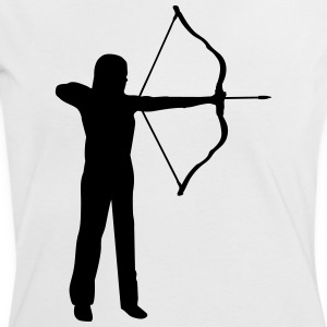 archery, archer - woman T-Shirts - Women's Ringer T-Shirt