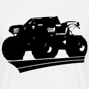 monster truck bigfoot - Men's T-Shirt