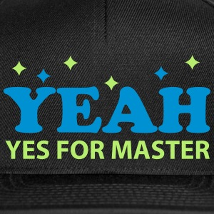 Yes for Master Caps & Mützen - Snapback Cap