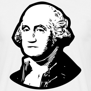 George Washington T-Shirts - Männer T-Shirt