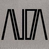 ~ cappellino bicolore con logo AUDA
