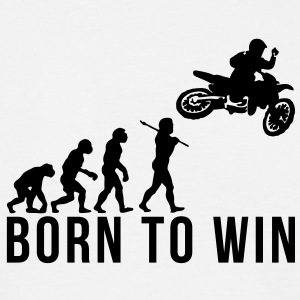 motocross evolution 2 born to win - Men's T-Shirt