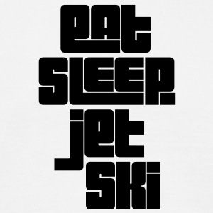 eat sleep jet ski - Men's T-Shirt