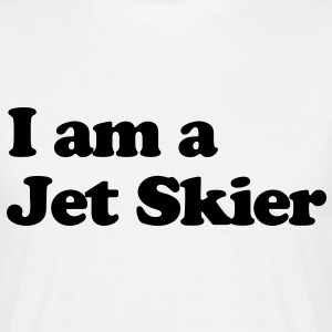 i am a jet skier - Men's T-Shirt