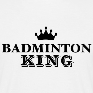 badminton king - Men's T-Shirt