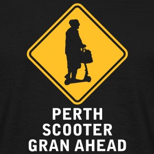 PERTH SCOOTER GRAN AHEAD - Men's T-Shirt